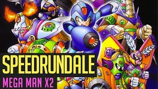 Mega Man X2 (Any%-Race) Speedrun von Berlindude1 & Mave3rick | Speedrundale