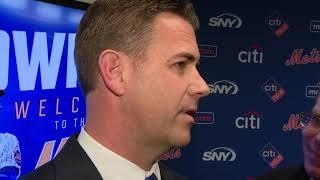 "New York Mets GM Brodie Van Wagenen on NL East: ""Come Get Us"""