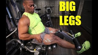 BIGGER LEGS: 3 Simples Steps      [Muscle Growth Secrets]
