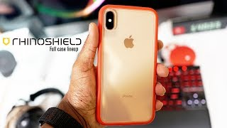 iPhone XS Max Rhinoshield Mod NX Cases SolidSuit & Impactshield Install