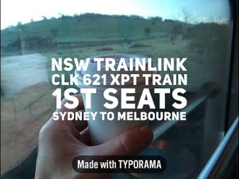 XPT (Sydney To Melbourne )overnight Train First Seats Review!!!