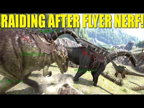 RAIDING AFTER FLYER NERF!(Battle Of Brotherhood/New Meta)-Ark:Survival Evolved(Pvp tribe life)-EP.10
