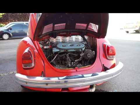 1972 vw bug with subaru engine conversion