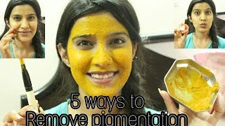 Pigmentation Treatment At Home | 5 ways To remove Pigmentation on face | SuperStyleTips