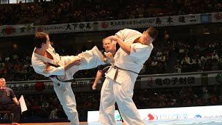第11回全世界空手道選手権大会 4回戦10 アンドレイ・ズィンチェンコ vs...