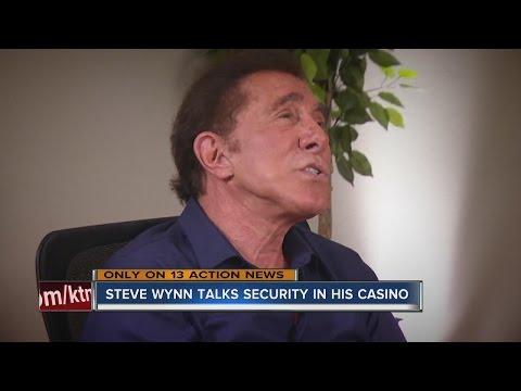 Steve Wynn talks security measures at his Las Vegas casinos