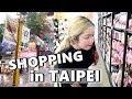 TAIPEI VLOG | Shopping at 西门町 (Xi Men Ding) MODERN TOILET...etc - saytioco
