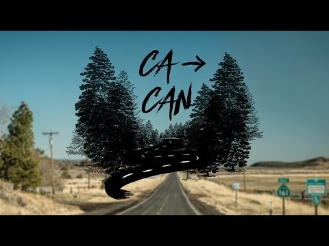 New Years Road Trip from California to Canada