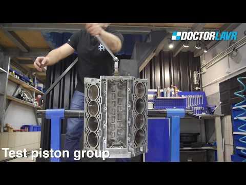 BMW V8 N62 Двигатель. Капремонт Инструкция. 1 Часть