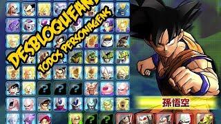 Dragon Ball: Battle of Z : Como desbloquear todos os Personagens(COMPLETO)