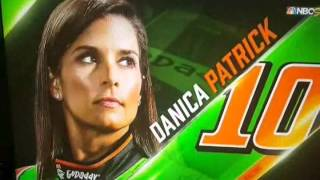 Danica Patrick 2015 crashes and fails