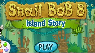 Snail Bob 8: Island Story Full Gameplay Walkthrough