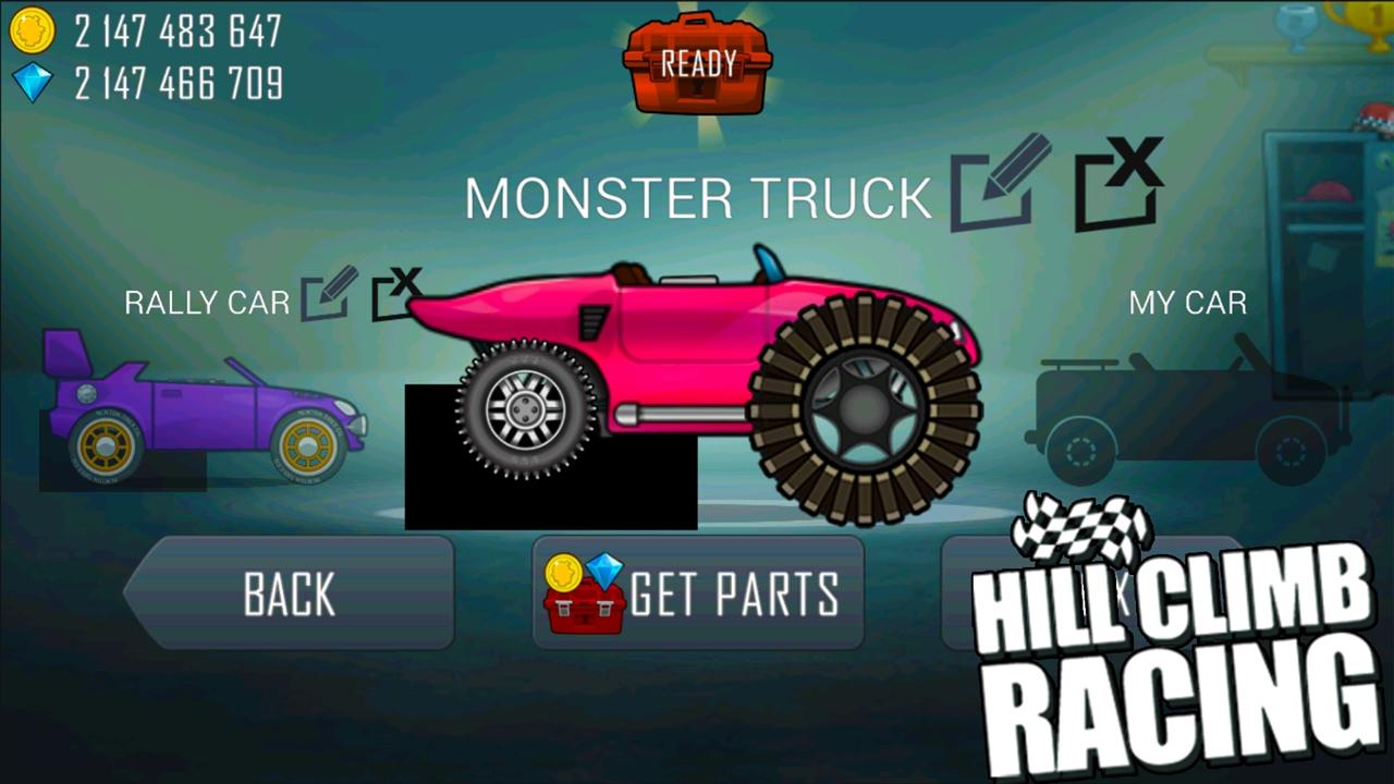 Hill Climb Racing Garage Monster Truck Update Create Your Own ...