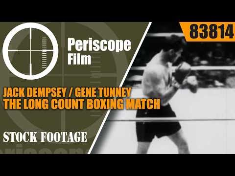 JACK DEMPSEY / GENE TUNNEY  THE LONG COUNT BOXING MATCH 1927 83814