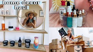 huge home decor & organization unboxing! *amazon must-haves*