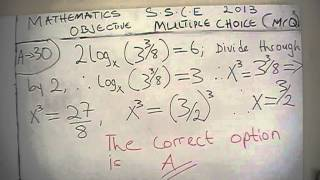 West Africa Examination Council(SSCE/GCE)Mathematics