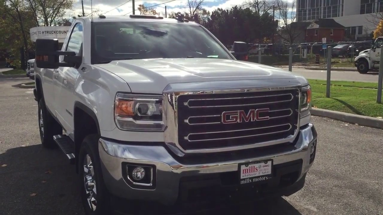 2018 GMC Sierra 2500HD Regular Cab Plow Prep 220 AMP White ...