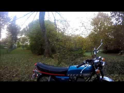 Présentation Yamaha RD50.