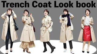 [트렌치코트 2탄] 코트 안에 입는 가을 룩북 14가지…