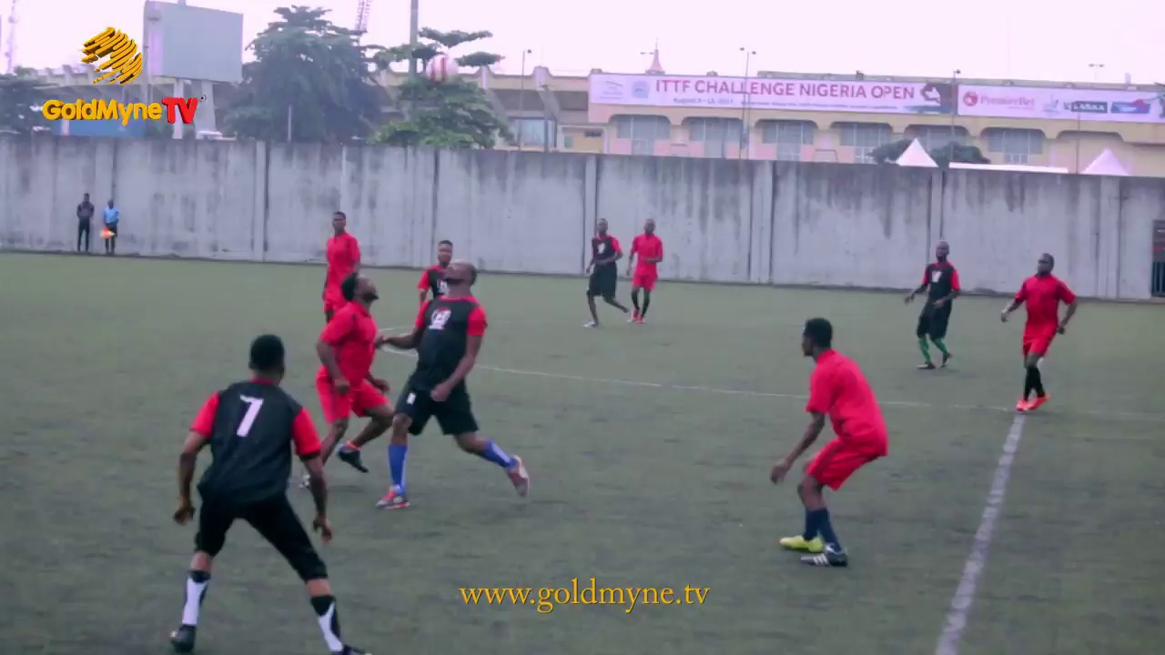 ALIBABA, AKPORORO AND OTHER COMEDIANS IN FOOTBALL FACE-OFF 2 (Nigerian Music & Entertainment)
