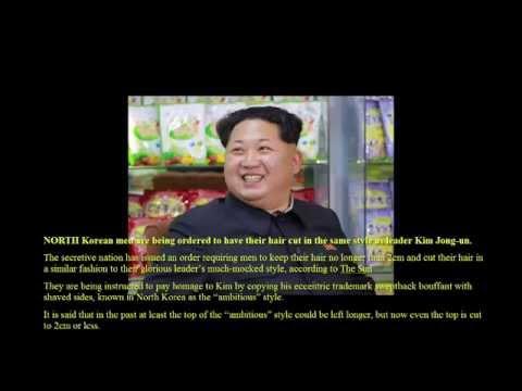 North Korean men ordered to copy Kim Jong-un's haircut