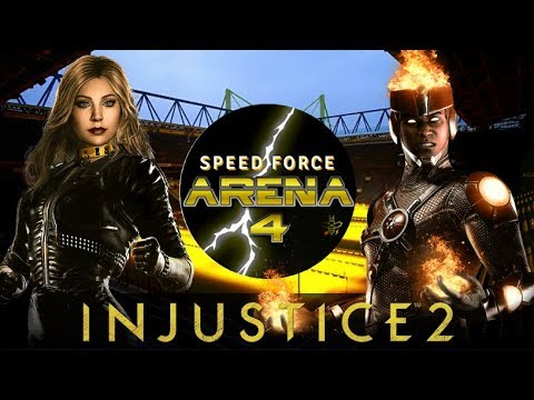 THINGS ARE GETTING HOT IN THE ARENA! Speed Force Arena 4! Full Injustice 2 Tournament!
