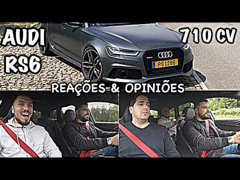 REAÇOES E OPINIÕES !!! *Audi RS6*