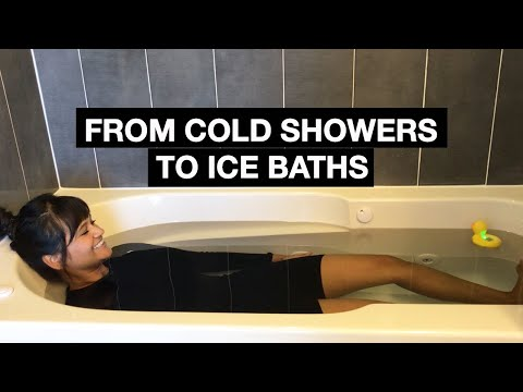 How To Go From Cold Showers To Ice Baths
