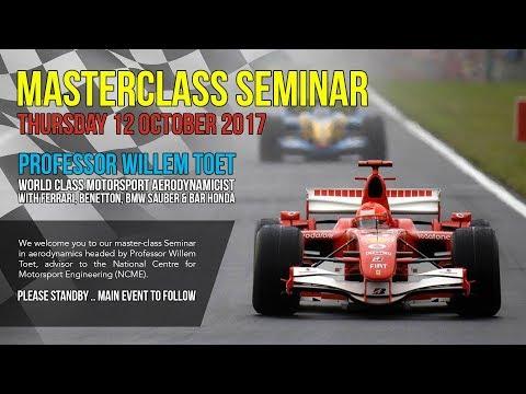 Willem Toet - University of Bolton Seminar
