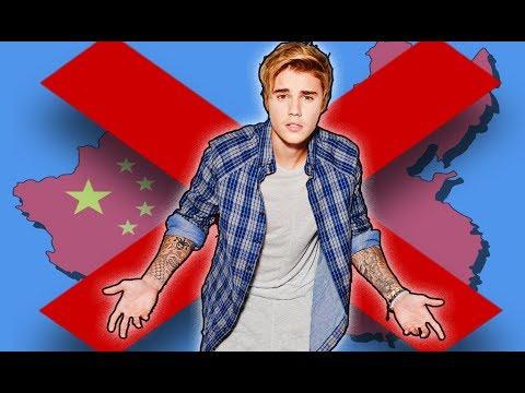 Justin Bieber Tiene Prohibido Presentarse en China