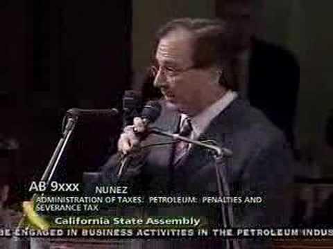 California Legislature Debates Oil Tax