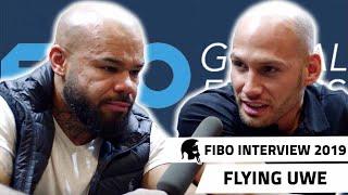 FIBO 2019 - FLYING UWE über MMA Fight, Zukunftspläne mit UFC?, uvm.