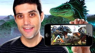 ARK para CELULARES e o Kraken de Sea of Thieves