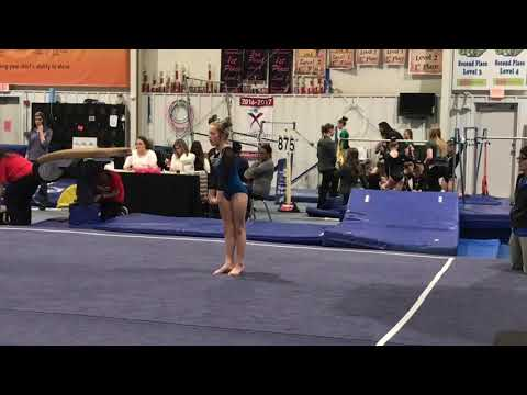 Mattie Level 4 Floor 1/29/2018 Sonshine Academy ~ qualified to states with this routine!