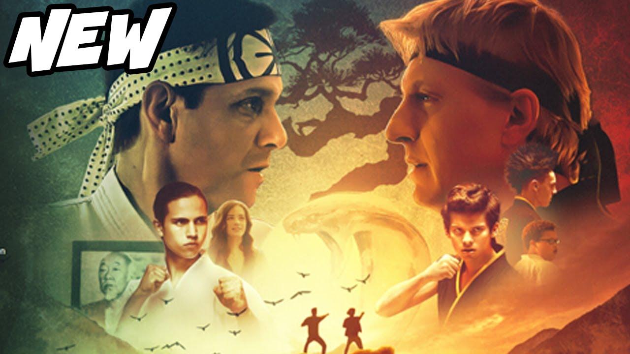 Cobra Kai NEW Poster officially on Netflix and Breakdown - YouTube