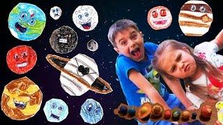The solar system  how to make for kids -  Cолнечная система планеты для детей
