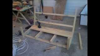 (ahŞap Salincak Yapimi) How To Make Wooden Swing