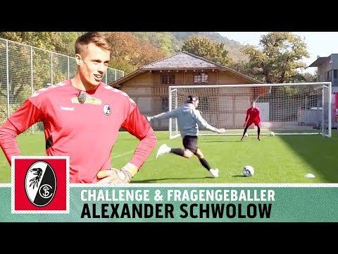 'Wenn das der TW-Trainer sieht...' | 5-Ball-Challenge vs. Alexander Schwolow | SC Freiburg | Kickbox