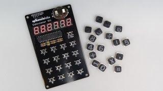 Assembling the SpikenzieLabs CALCULATOR KIT (2013 video)