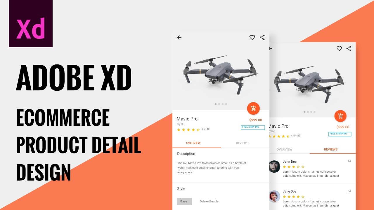 Adobe XD tutorials - UI/UX design tutorials for Adobe XD