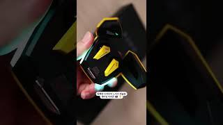 독특한 디자인의 노이즈 캔슬링 게이밍 이어폰