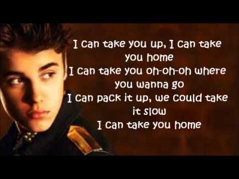 Justin Bieber - Take you Letra