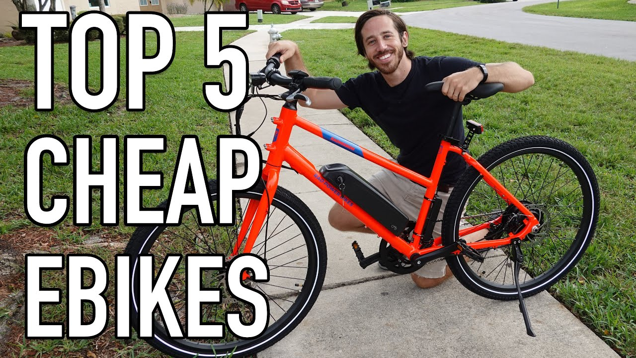 The best cheap (yet good) electric bicycles in 2021!
