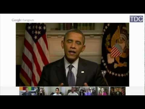 "Obama on American Auto Industry - Google+ ""Hangout"" (Part 4)"