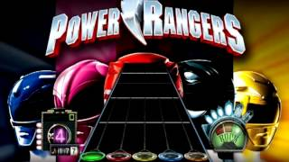 Go Go Power Rangers - Guitar Hero - Chart