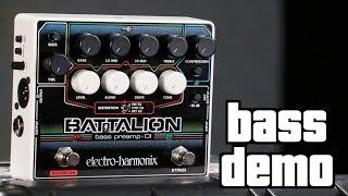 Electro Harmonix Battalion Bass Preamp Demo