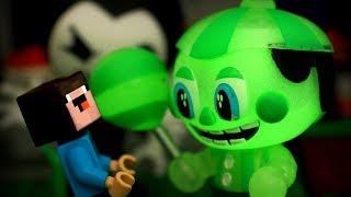 ФНАФ СВЕТЯТСЯ в ТЕМНОТЕ и Лего НУБик Мультики Майнкрафт - LEGO FNAF Minecraft Мультфильмы