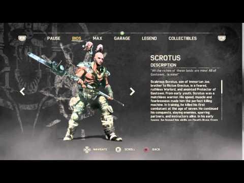 Mad Max scabrous  scrotus bio clip