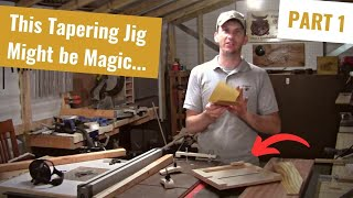 Jigs - Multi Function Tapering / Sandpaper Quartering Part 1