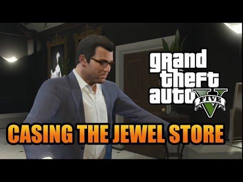 Part 10 - GTA 5 Walkthrough - Casing the Jewel Store